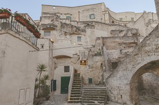 "The ""Sassi"" of the Southern Italian UNESCO World Heritage City of Matera are ancient cave dwellings dug out of the region's limestone rock, which have been used by humans from as far back as 7000 BC."