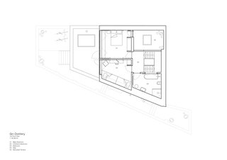 The first floor plan.
