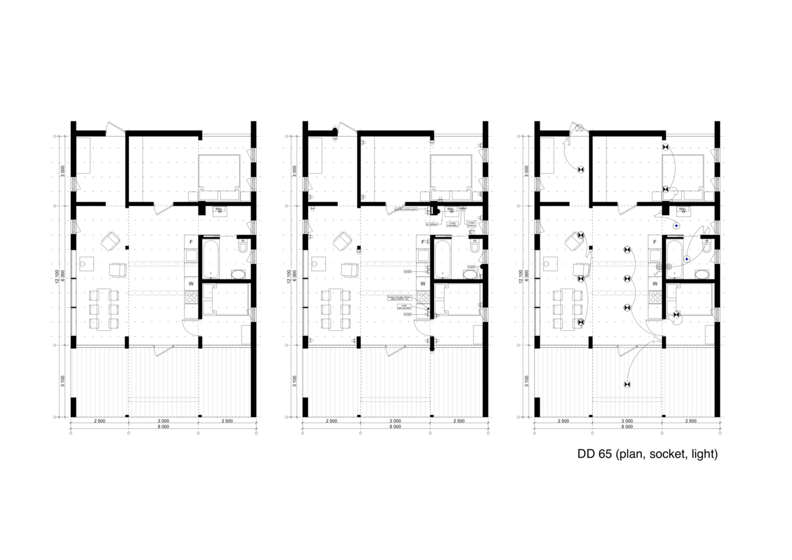 DD 65 floor plan drawing  Photo 16 of 22 in DublDom Prefab Homes Can Be Built in One Day