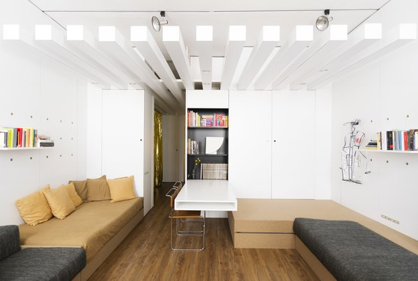 A Tiny Florence Flat Is Reborn as an Architect's Live/Work Space