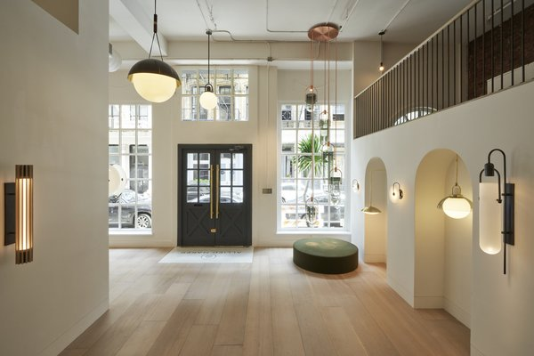 Allied Maker Turns a Dentist's Office Into a Luminous Showroom