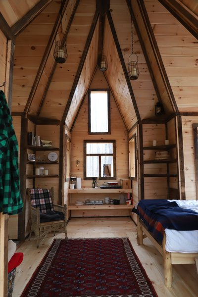 Designer and builder Jacob Witzling's handcrafted cabins have a dreamy, fantastical quality that makes them truly one-of-a-kind.