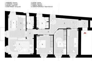 The Le Temps Retrouve Residence Floor Plan