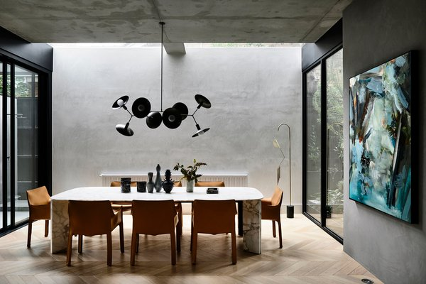 Workroom director and architect John Bornas has worked with AGUSHI on several projects, and both teams are much in agreement when it comes to design sensibilities and attention to detail.