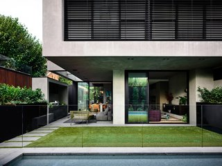 The meticulous landscaping was achieved by Australian landscape architect Jack Merlo.