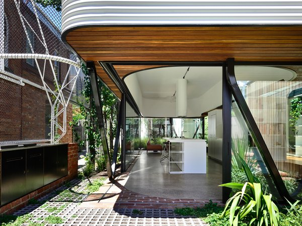 The renovation and extension increased the size of the property to 5,372-square-feet.