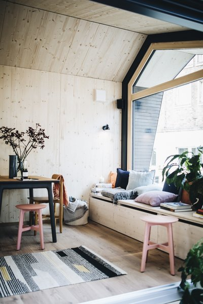 Intelligently crafted from high-quality, sustainable materials, this Cabin Spacey tiny house is also energy efficient, and equipped with smart home technology.