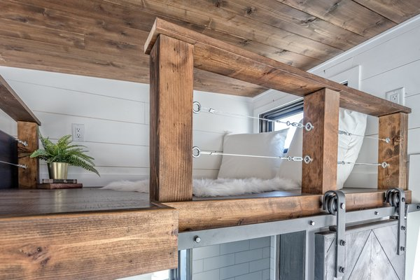 A peek at the versatile loft space.