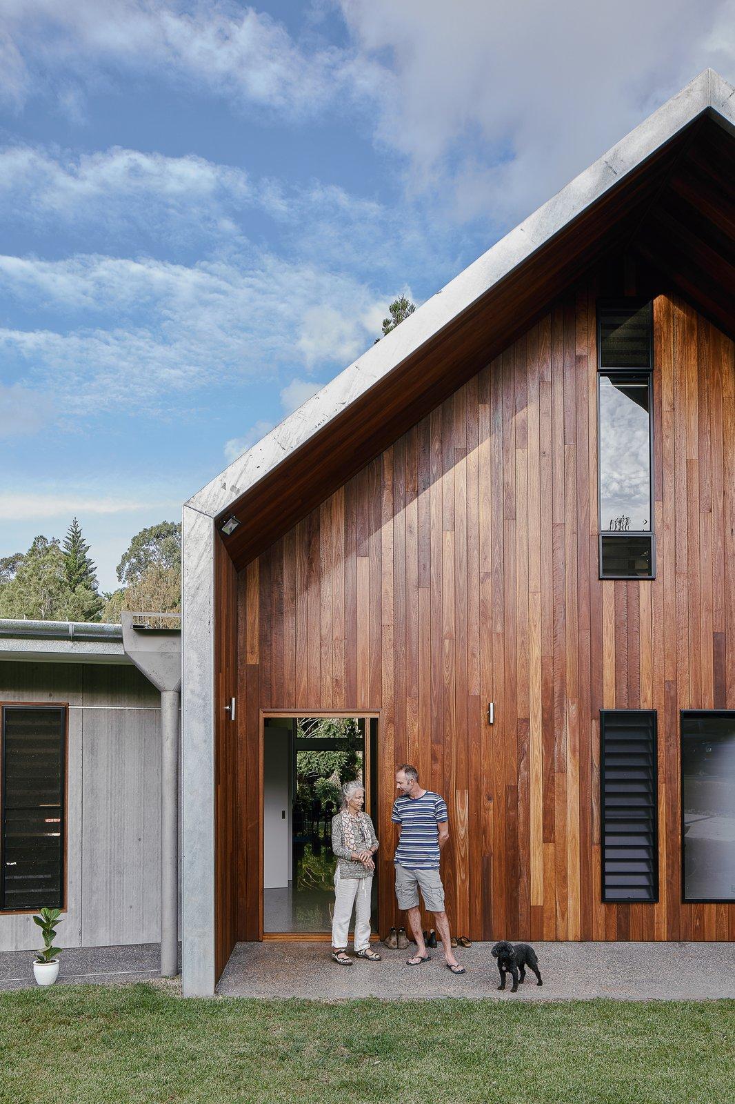 twin barns exterior