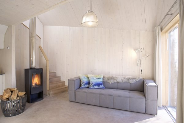 Owner Jenny Cowan says that the cottage was inspired by Scandinavian cabins.