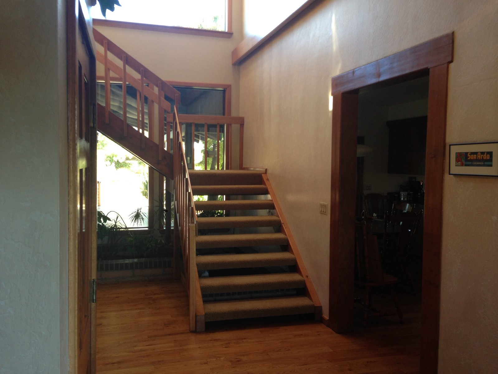 Before: House for Grandparents staircase