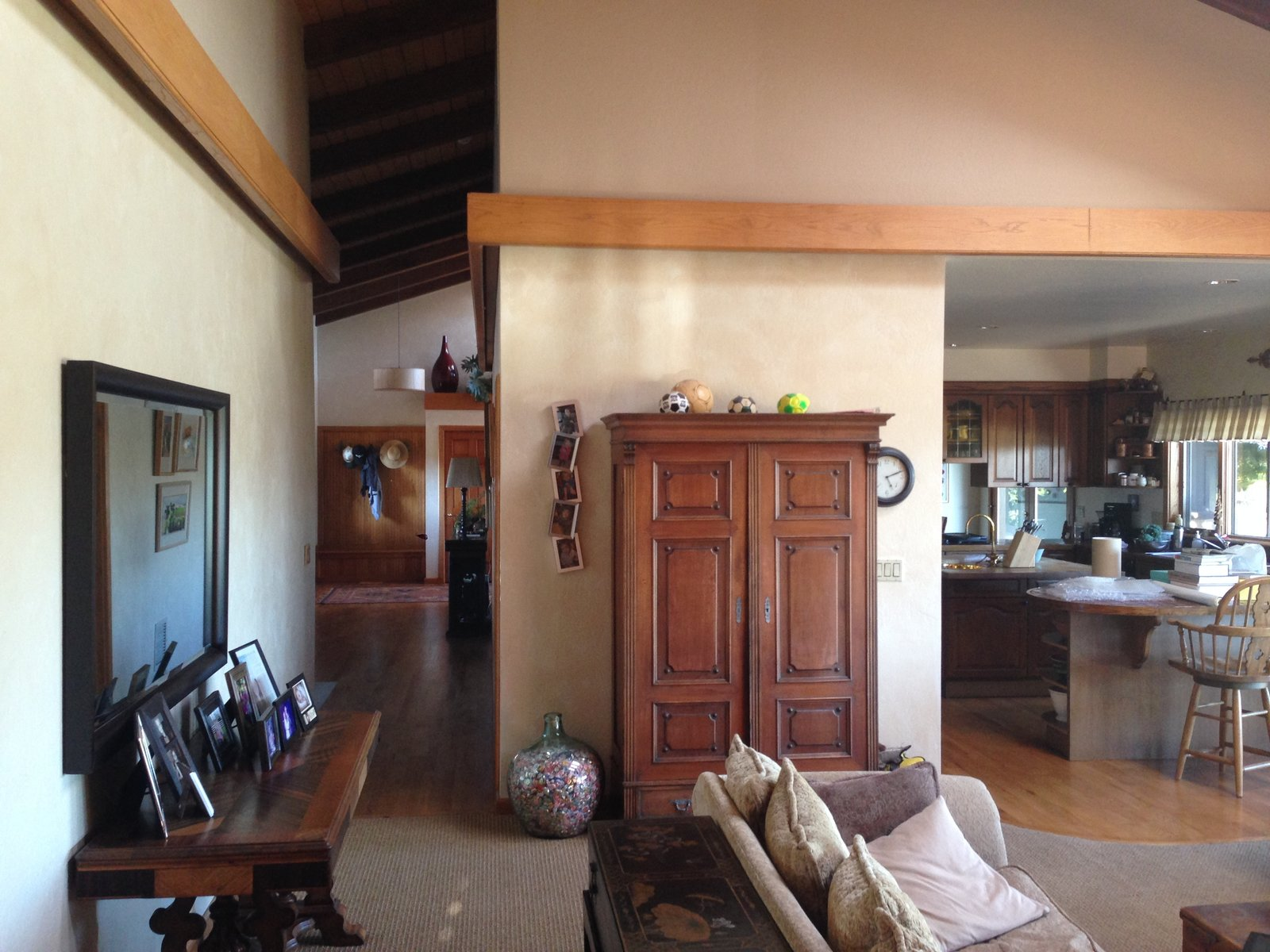 Before: House for Grandparents living room