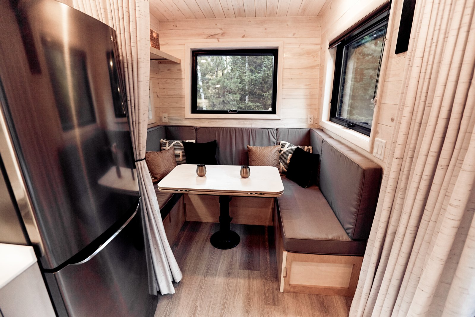 Photo 9 Of 16 In This Adventure Ready Tiny House Has A Mud Room And A Fold Down Deck Dwell