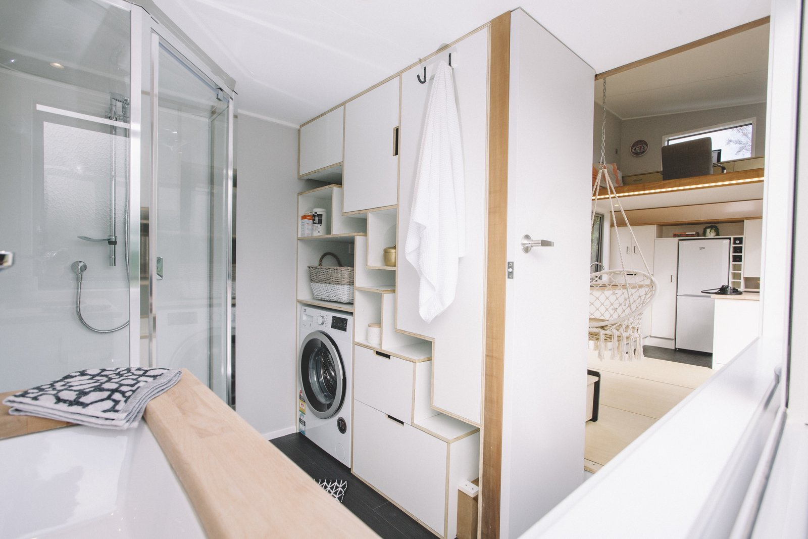 Millennial Tiny House bathroom