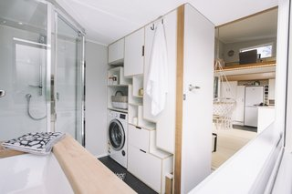 Bathroom fixtures by Acquatica.