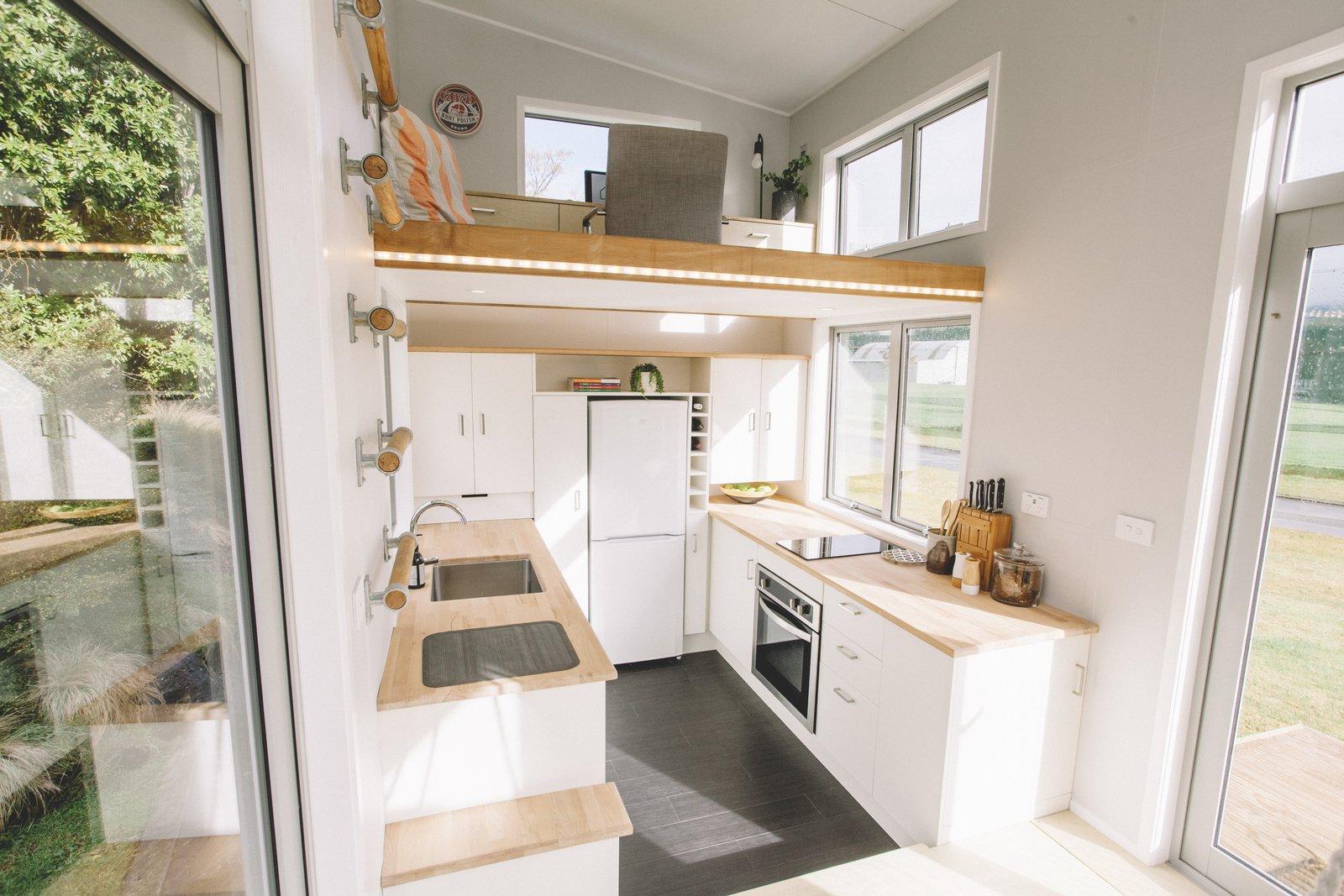 Millennial Tiny House kitchen