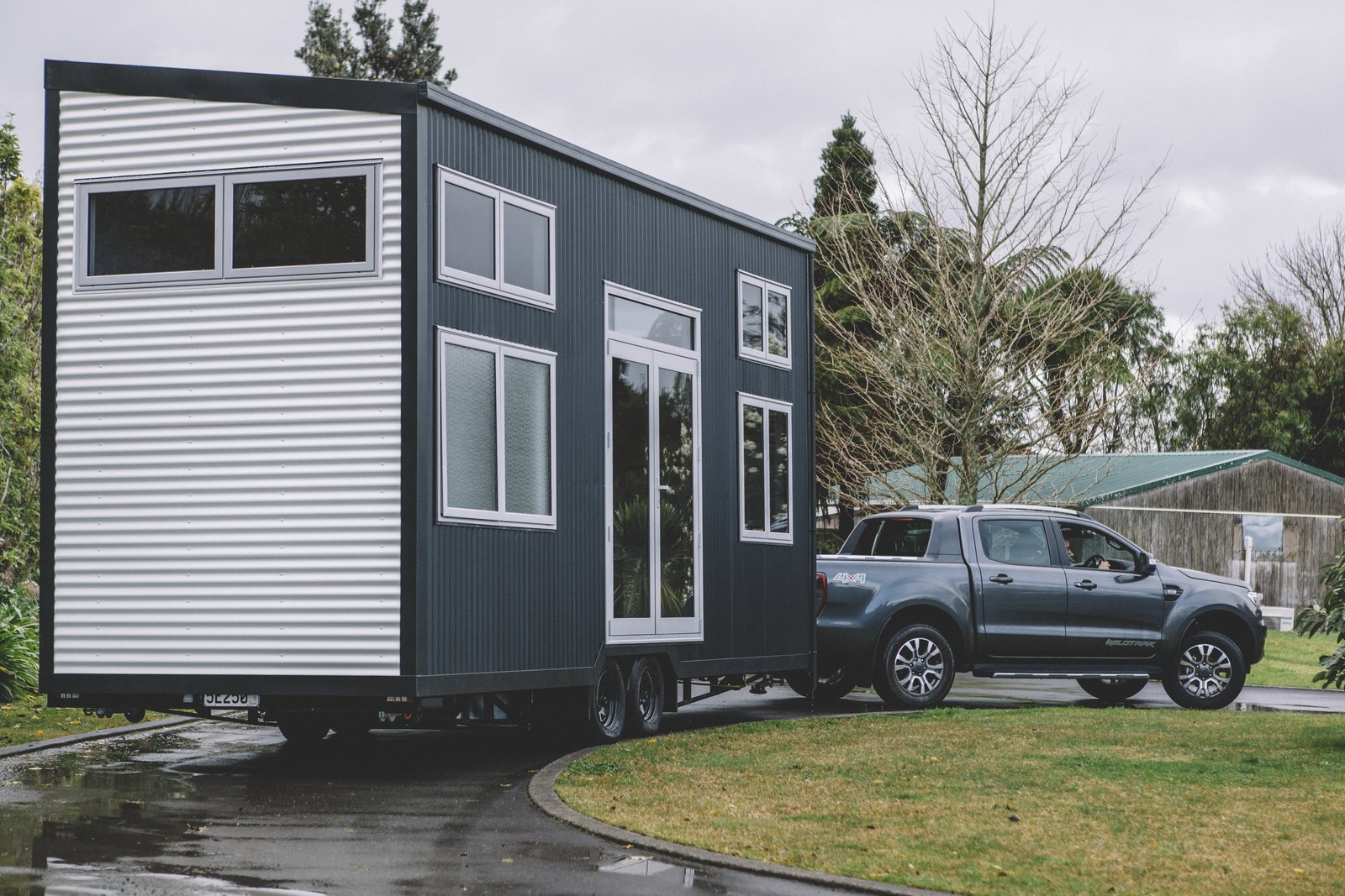 Millennial Tiny House exterior