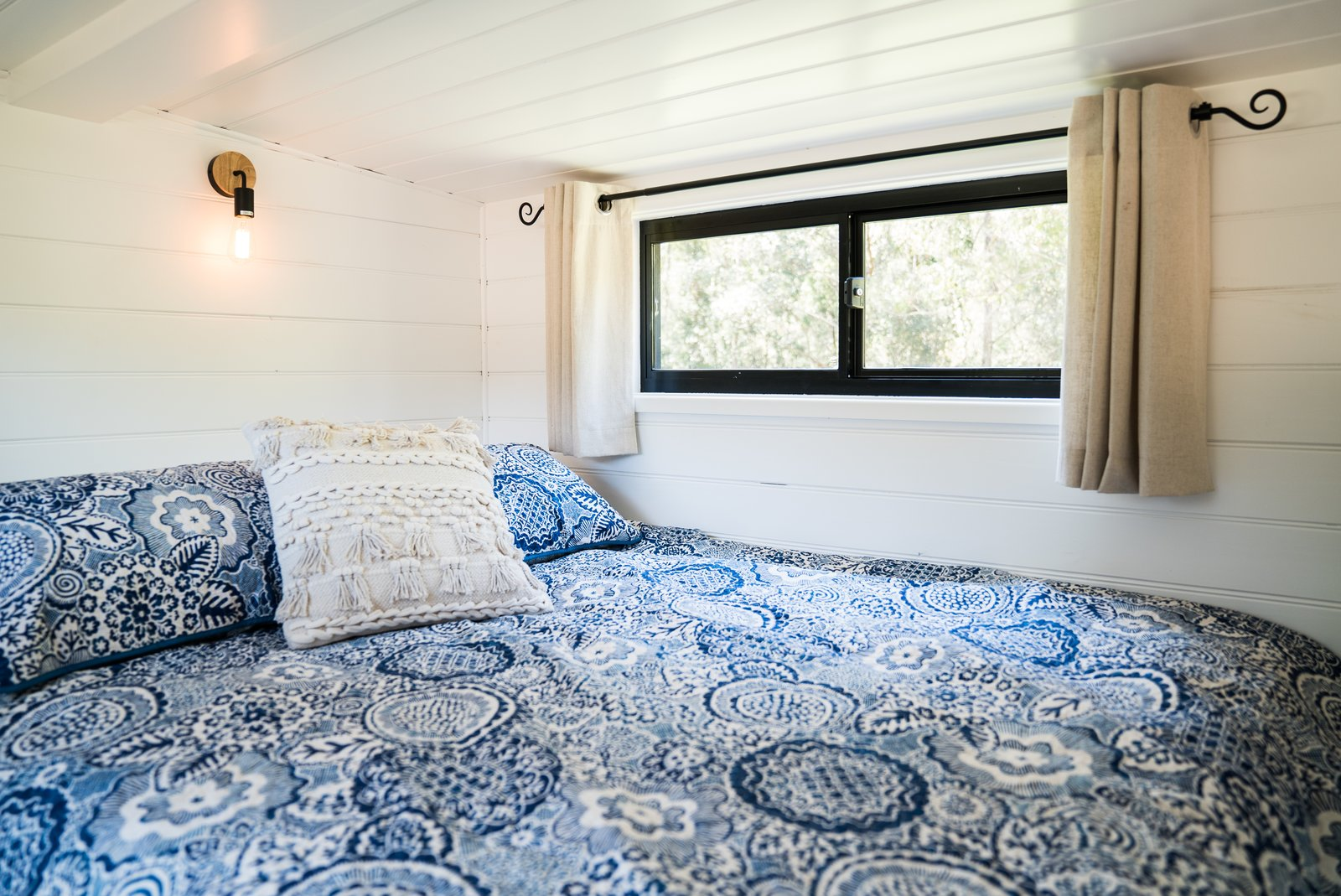 Sojourner tiny house bedroom