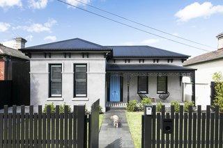 australian victorian renovation, exterior