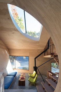 Ex of In House by Steven Holl Architects, Interior, Living