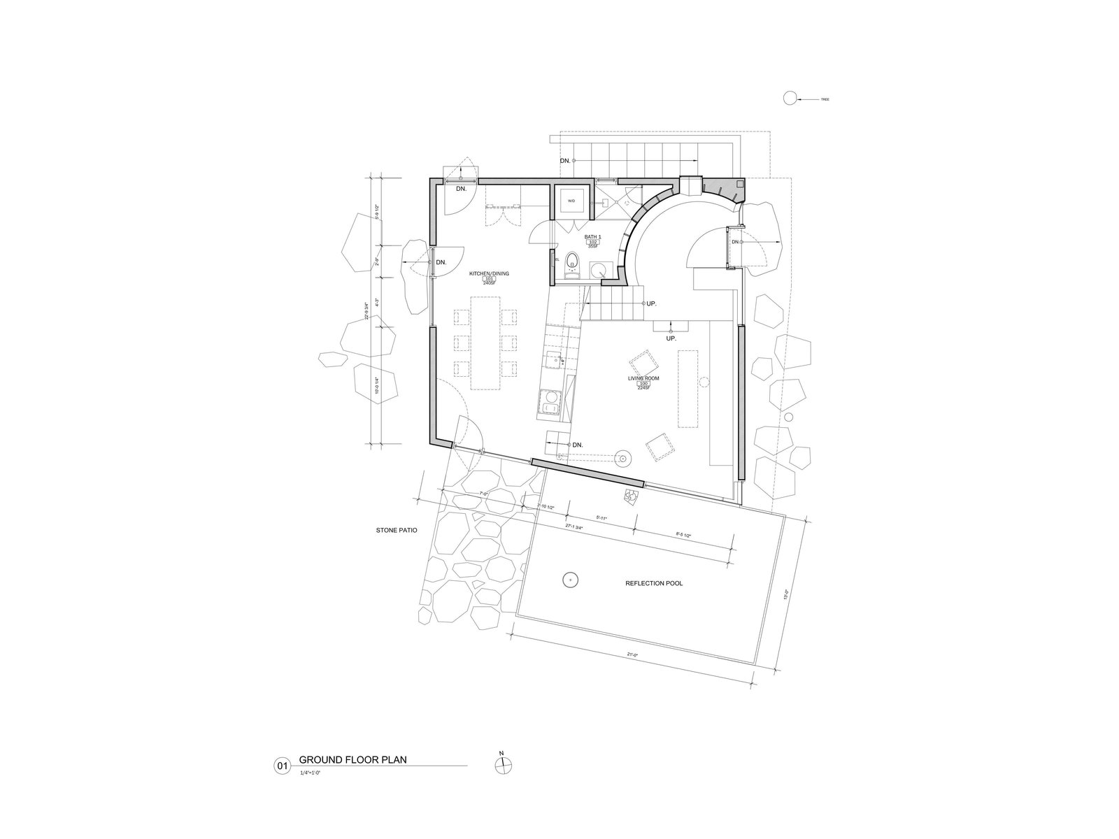 Ex of In House ground floor plan
