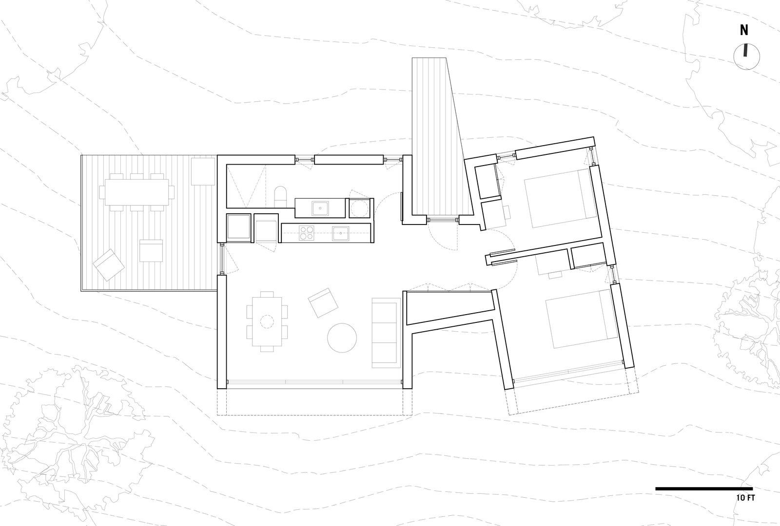 La Binocle floor plan
