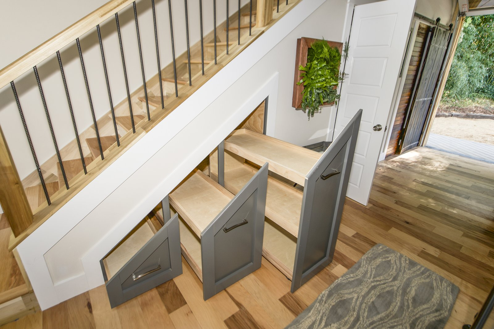Urban Micro Home staircase