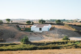 Cercal House is a minimalist, Mediterranean home that celebrates the Alentejo landscape.