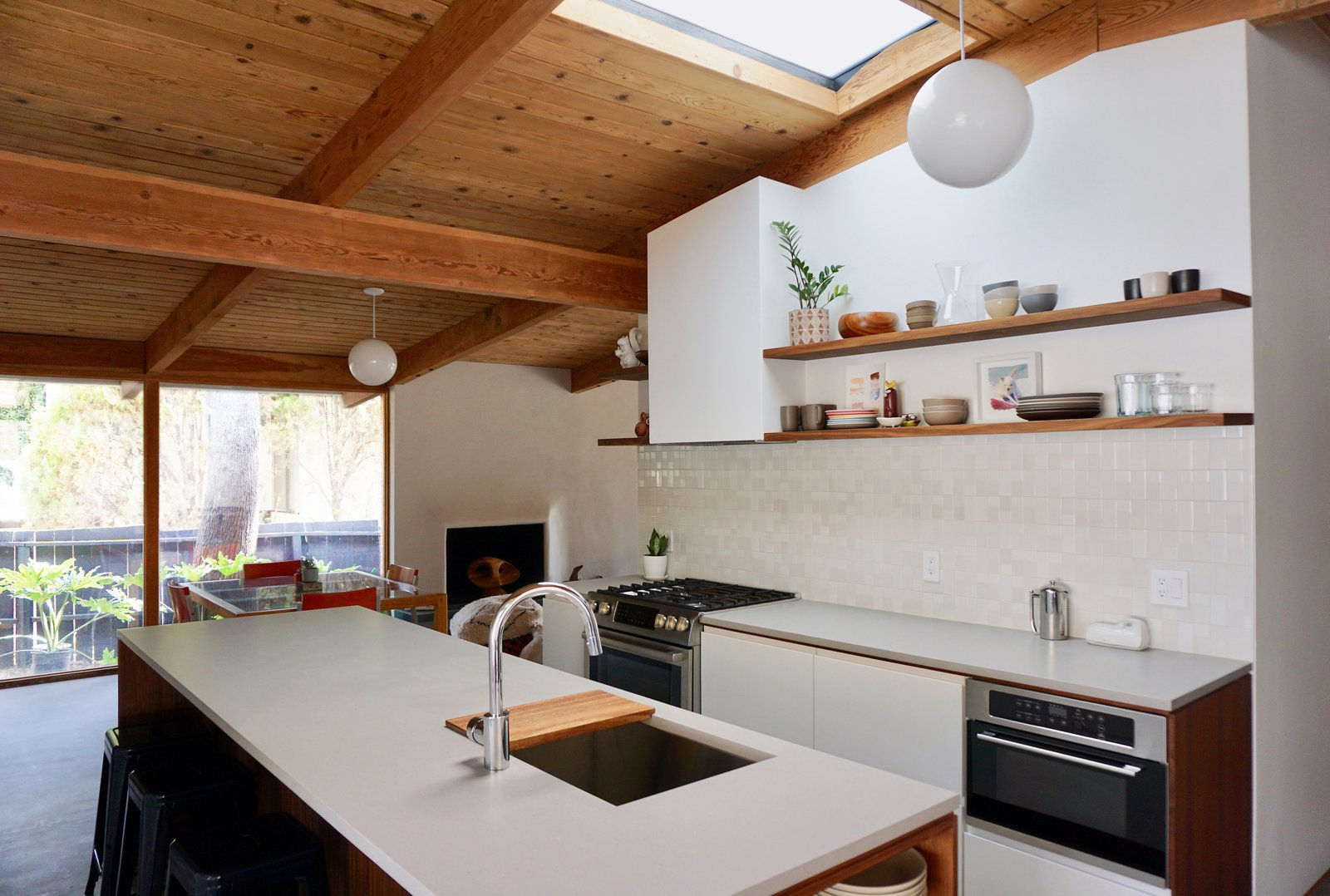 After: Bill Mack Bel Air renovation kitchen