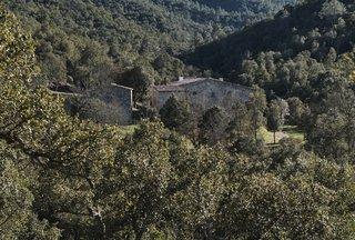 The restored 17th-century farmhouse in the Baix Empordà region of Spain.