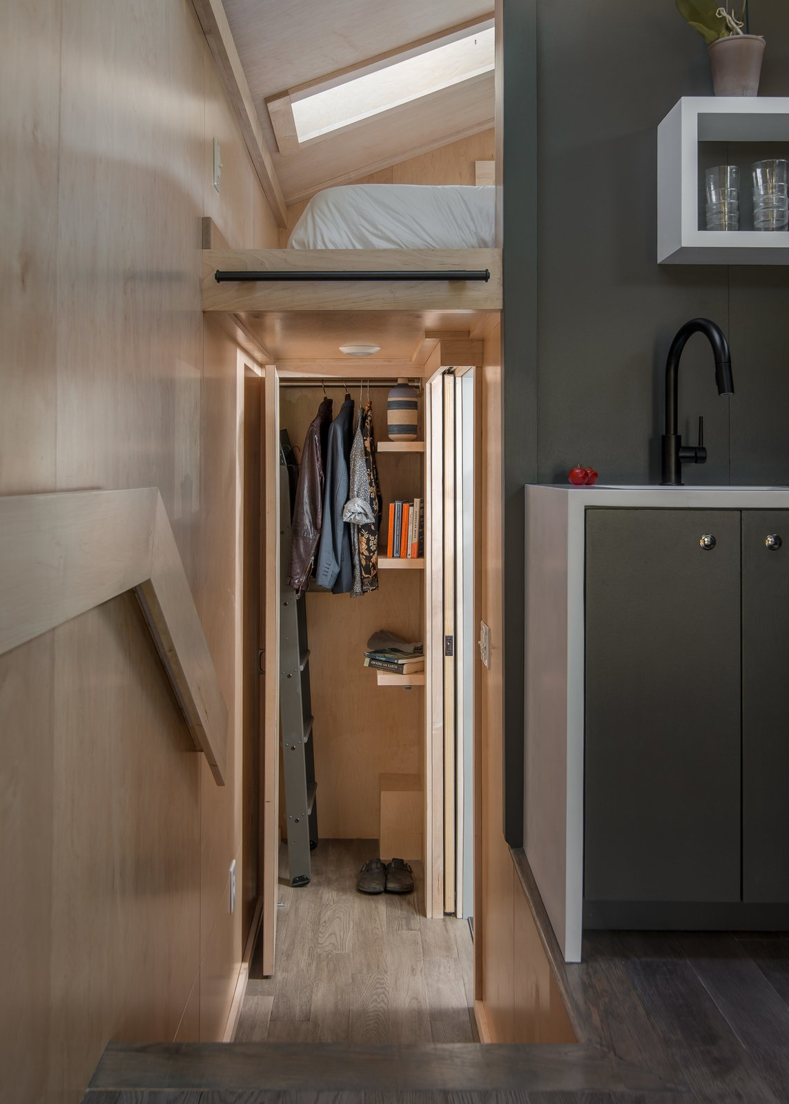Orchid Tiny House storage