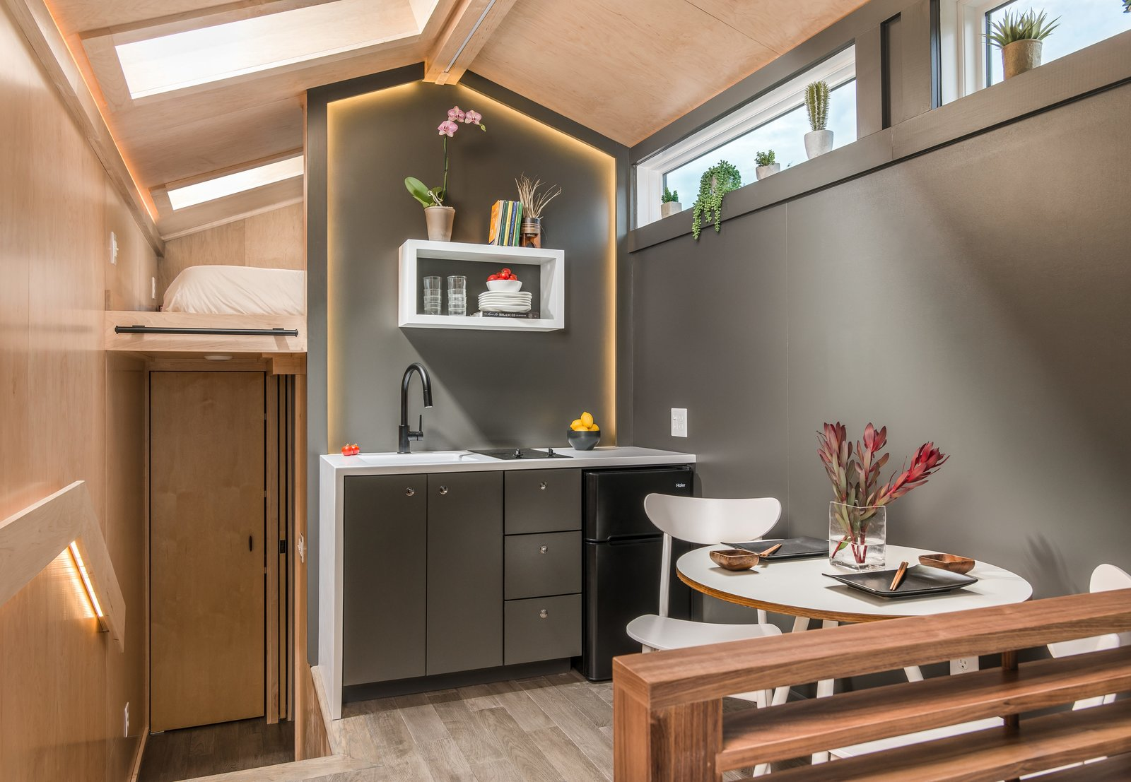 Orchid Tiny House dining area