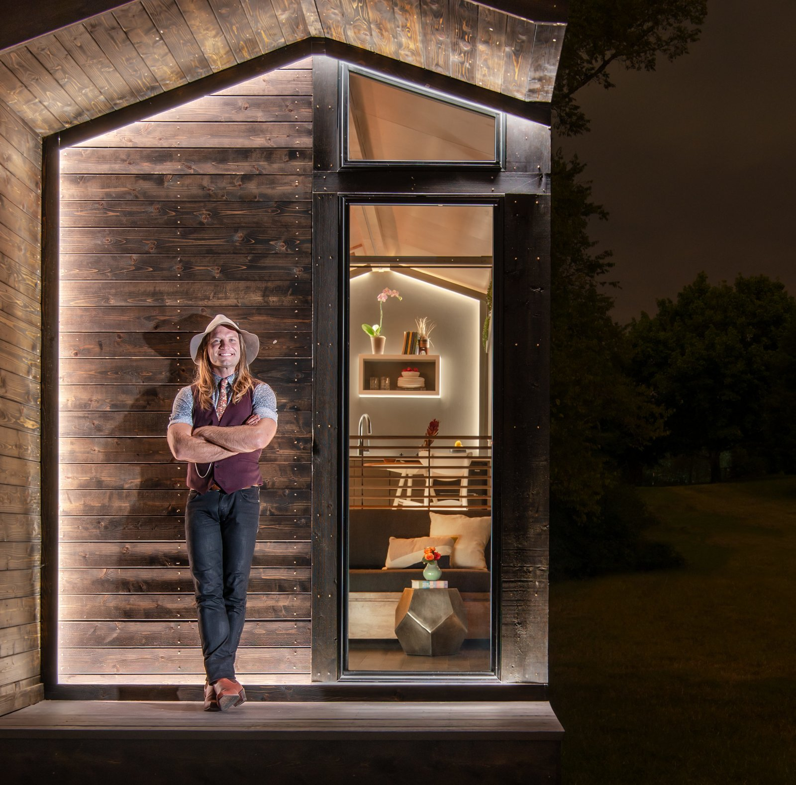New Frontier Tiny Homes CEO David Latimer