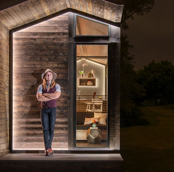 David Latimer, CEO and founder of New Frontier Tiny Homes