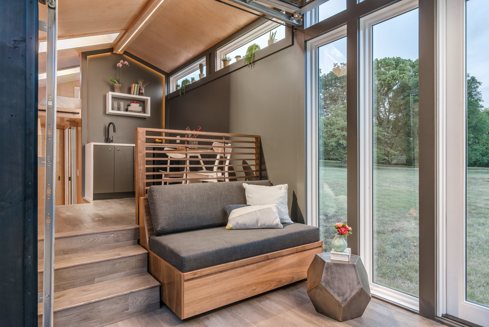 Orchid Tiny House living area