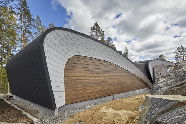 Photo 2 of 17 in The Wave House Is a Futuristic Finnish Home