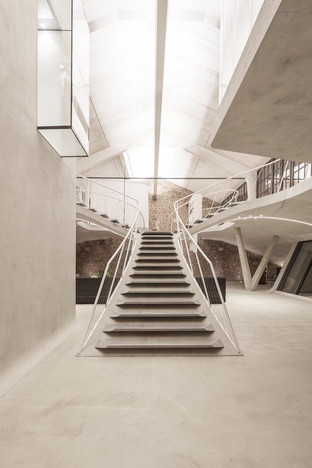 Loft Panzerhalle interior