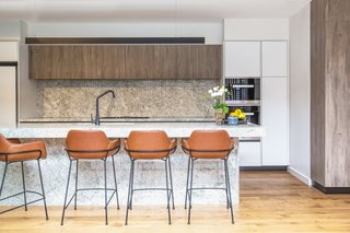 Coco Bar Stools by Vorsen provide plenty of kitchen seating.