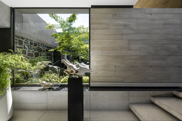 Glassman Westcoast glazing and aluminum windows help orchestrate the indoor/outdoor connection.