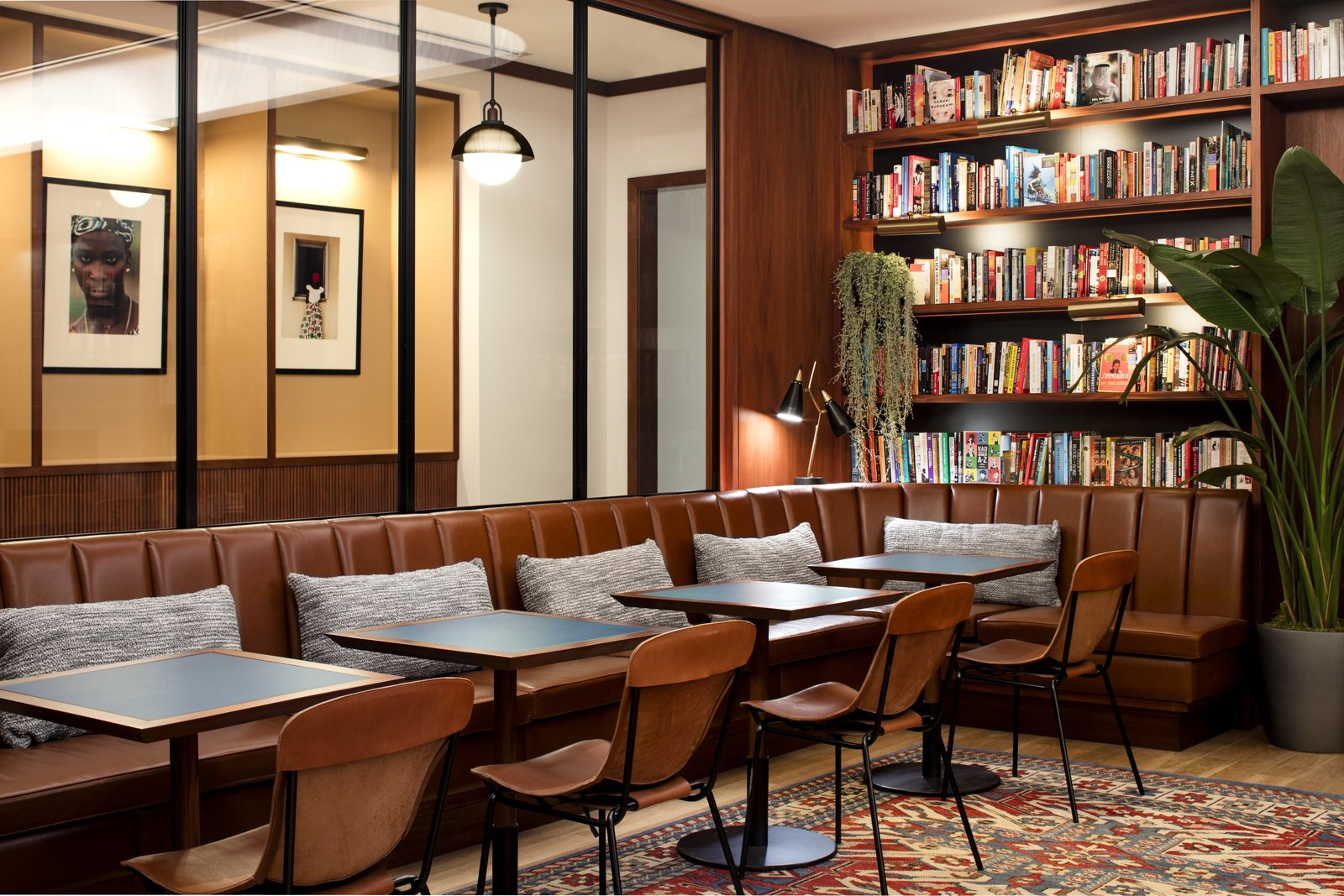 Eaton DC hotel library