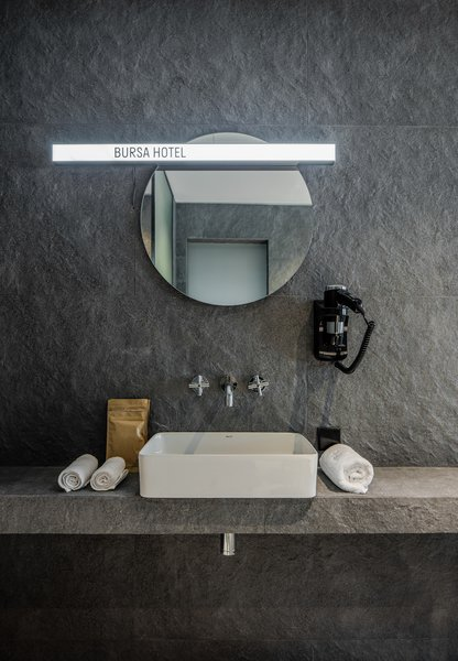 A washbasin from Rocca.