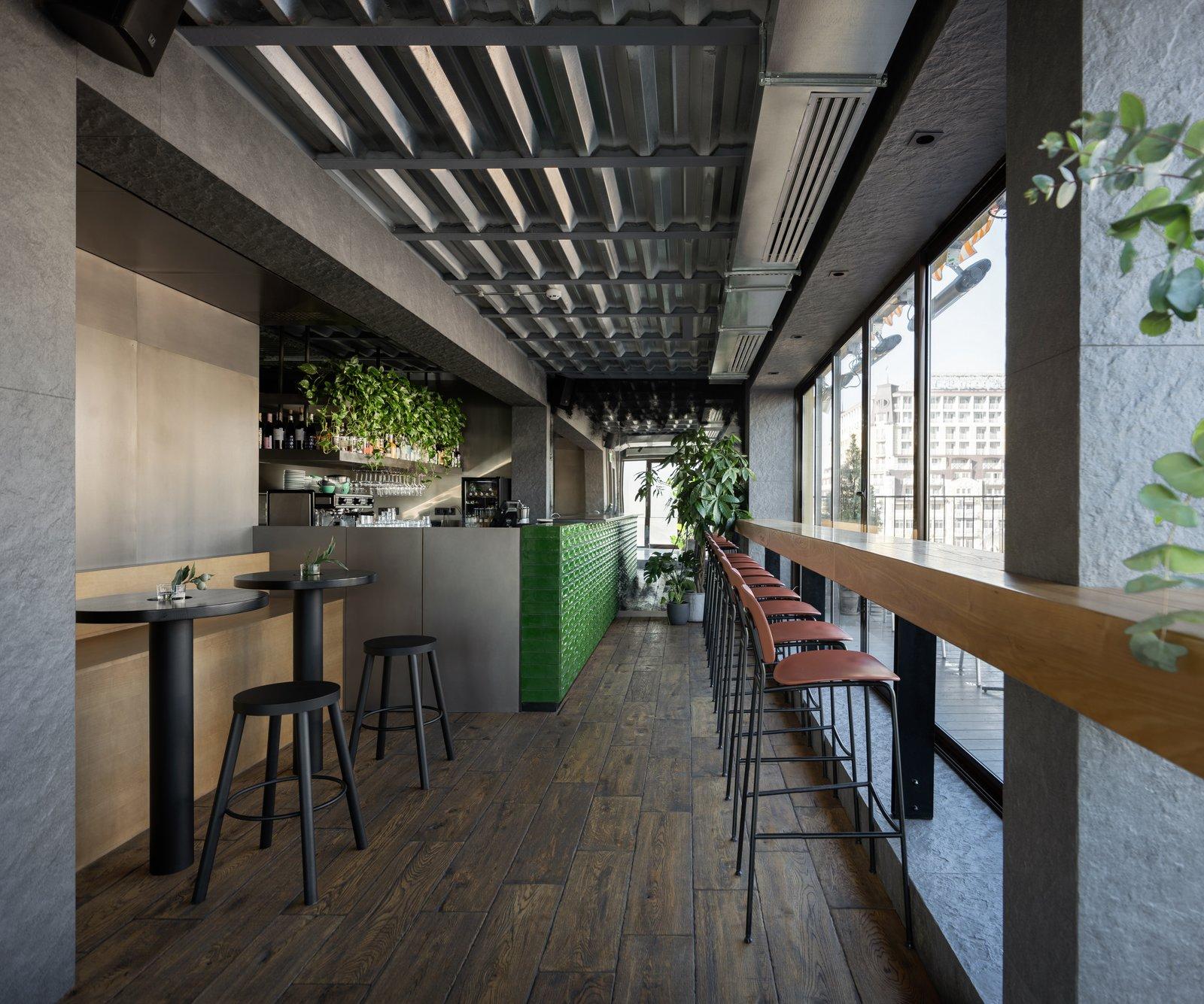 Bursa Hotel 1818 roof bar