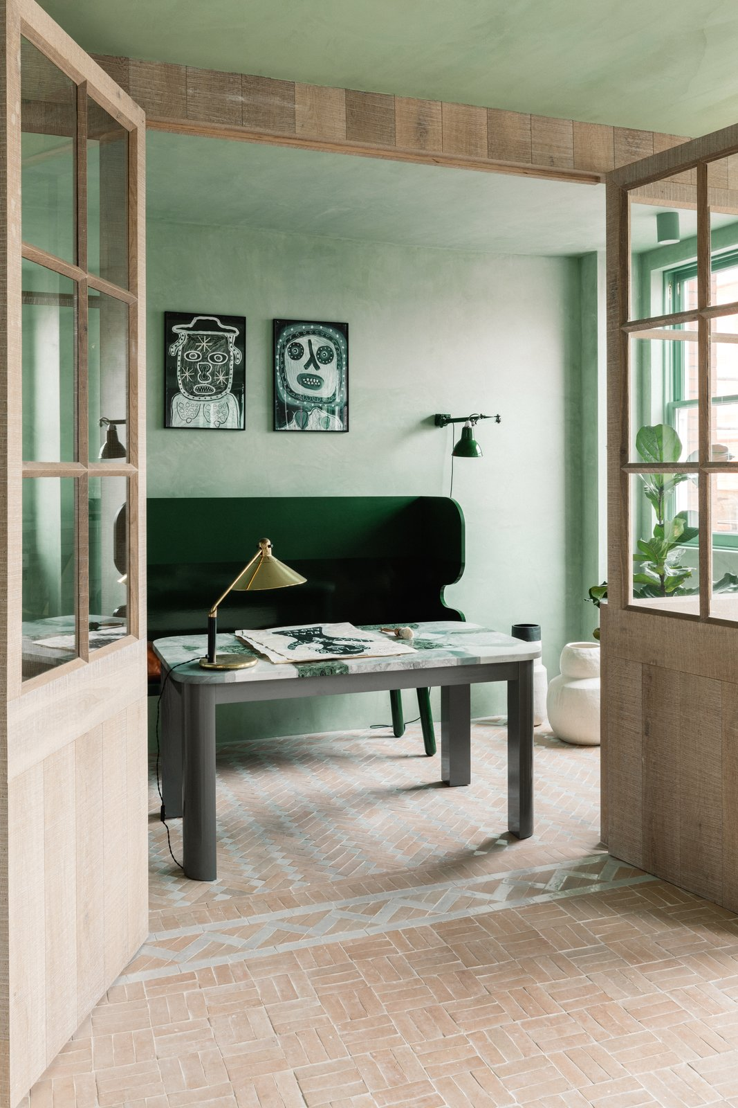 The Beldi Chan + Eayrs living area