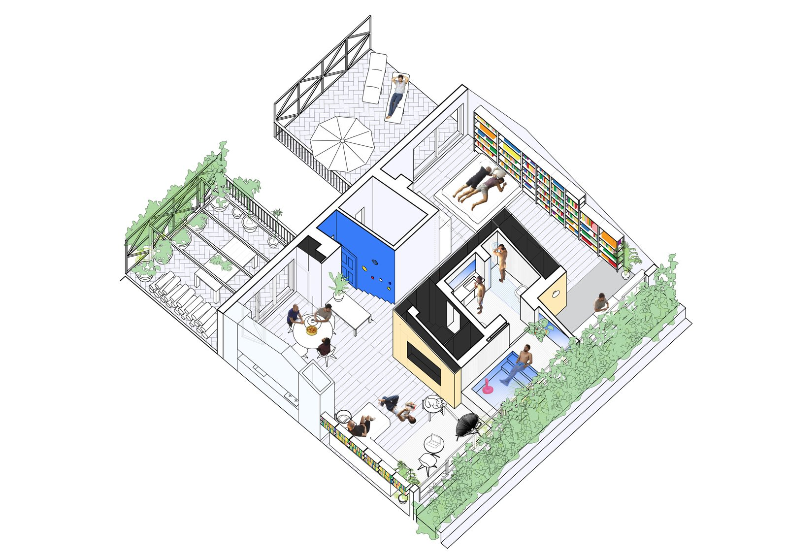 G House floor plan