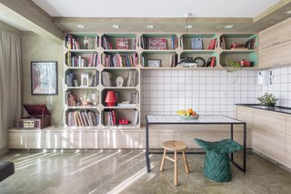 A Comic Book Illustrator's Quirky  Live/Work Pad in Brazil