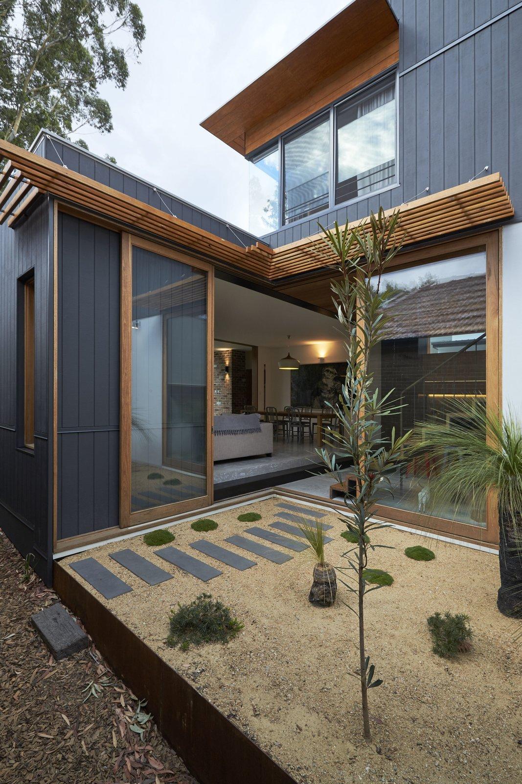 Suntrap House courtyard