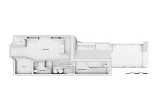 The loft plan of the Scenario House