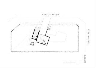 Two Angle House underground floor plan