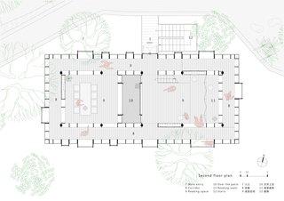 Mountain House in Mist ground floor plan