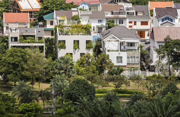 Stepping Park House has a park as a northern neighbor—a rarity in densely populated Ho Chi Minh City.